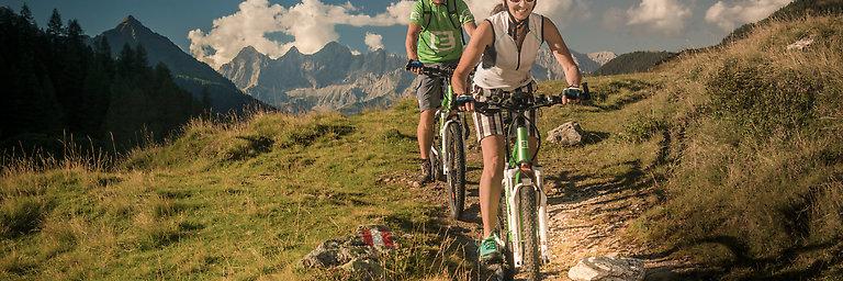 Fahrradurlaub - Mountainbike