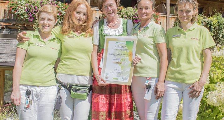 Flora 2017: Erneute Auszeichnung