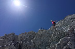 Kletterglück auf 2997m