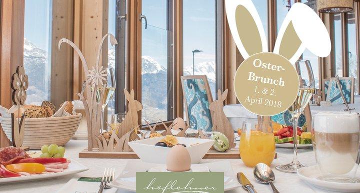 Osterbrunch im Natur- und Wellnesshotel Höflehner