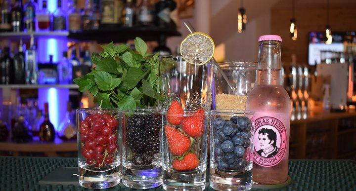 Sommerlicher Cocktail