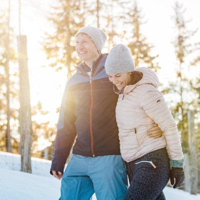 Wintererlebnisse am Gumpenberg