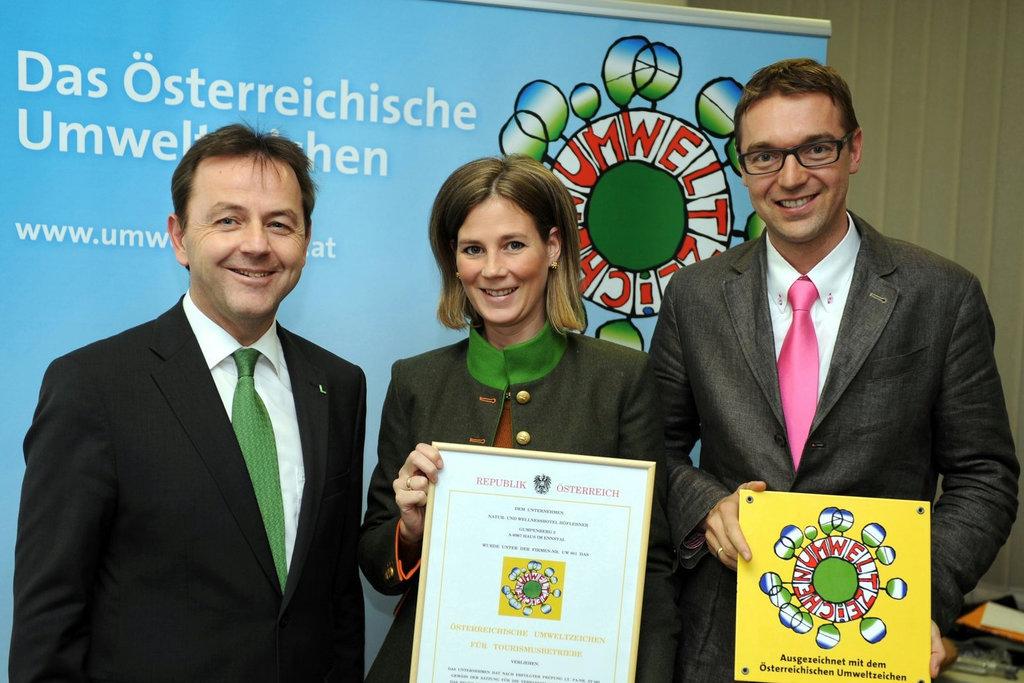 Niki Berlakovic, Katrin und Gerhard Höflehner