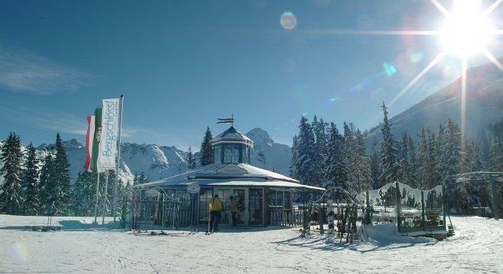 Das Bergschlössl auf 1.820 Metern Seehöhe