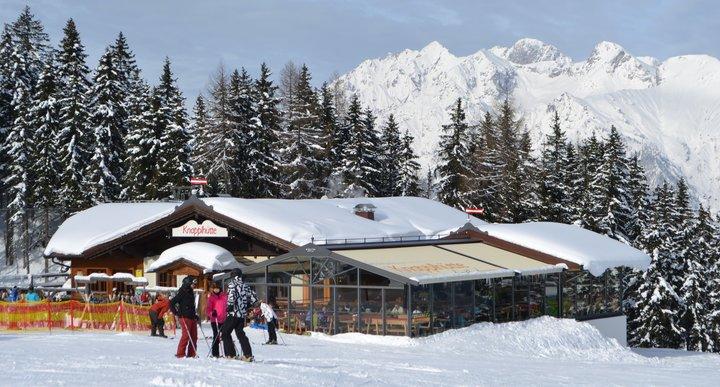 Die Knapplhütte auf 1.500 Meter