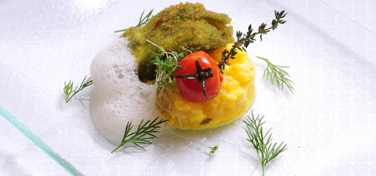Naturküche mit regionalen Spezialitäten