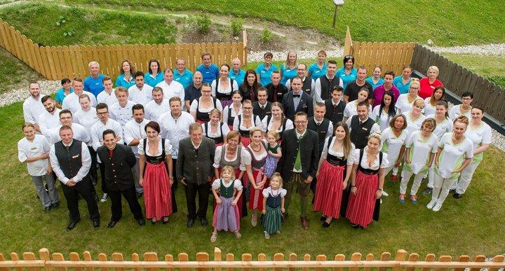 Naturhotel Höflehner Team 2017