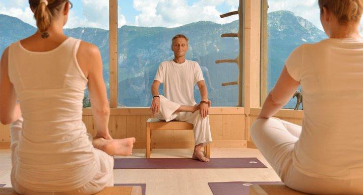Yogalehrer Johannes