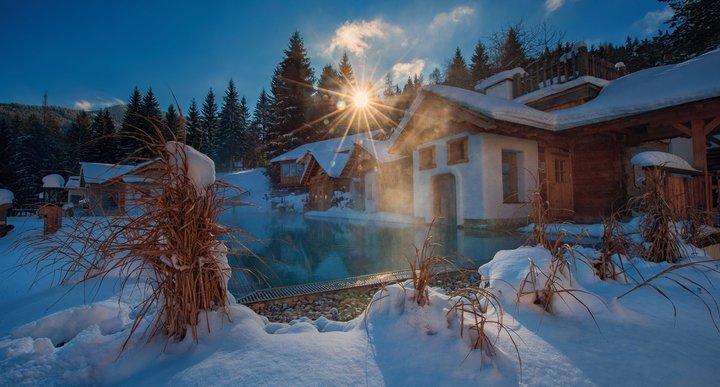 Sonnenschein im Winter
