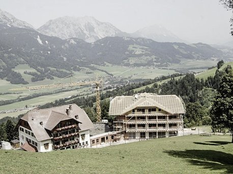 Bau des Haus Grimming 2009