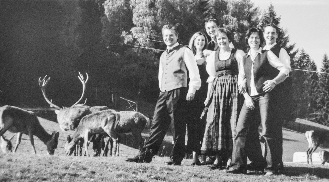 Familie Hoeflehner damals