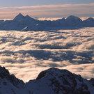 Nebelmeer zwischen Dachstein und Tauern