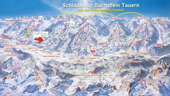 Die 4 Berge Skischaukel
