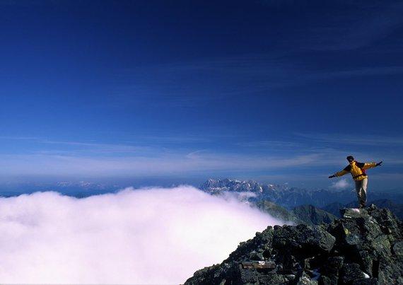 Gipfelsturm auf den Hochgolling - höchster Berg der Niederen Tauern