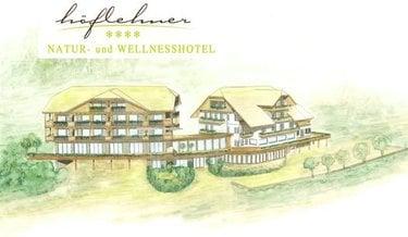 skizze natur und wellnesshotel höflehner