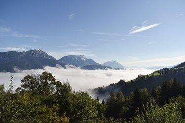 Blick über den Nebel
