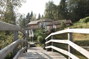 Brücke Garten