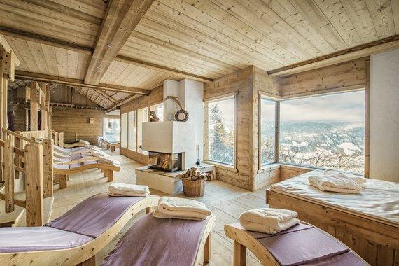 Der perfekte Ort für die Ruhephasen zwischen den Saunagängen