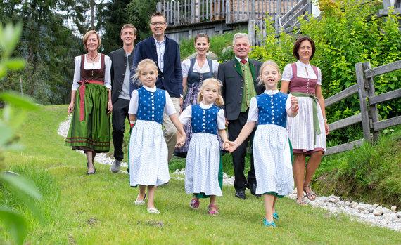 Familie Höflehner Sommer