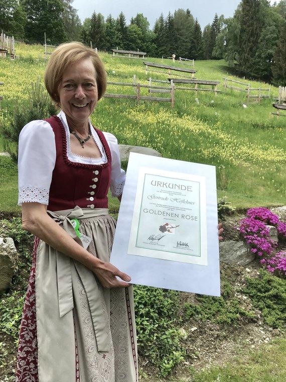 Goldene Wirtin Gerti Höflehner