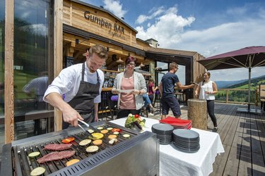 Grillen in der Gumpen BAR
