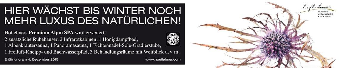 Höflehner Premium Alpin Spa