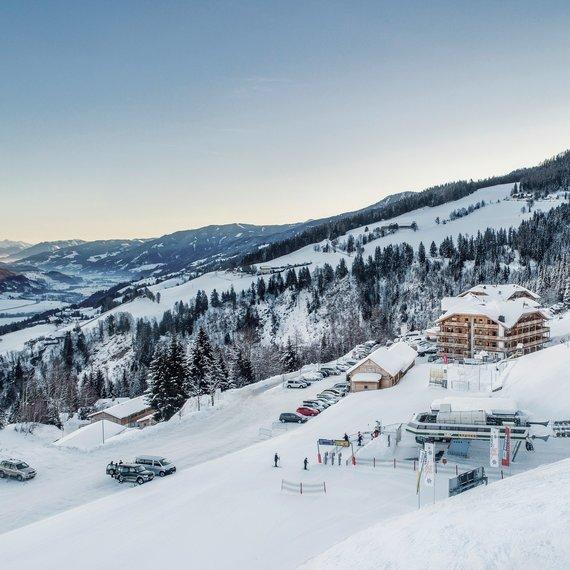 Hotel und Skilift