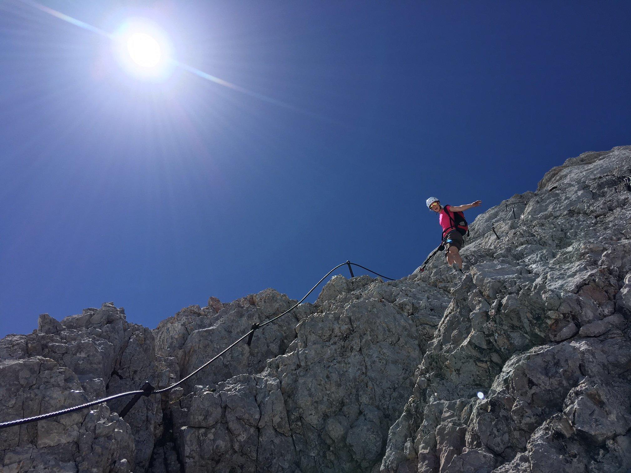 Klettergurt Leihen : Kletterglück auf 2997m blog start ez publish
