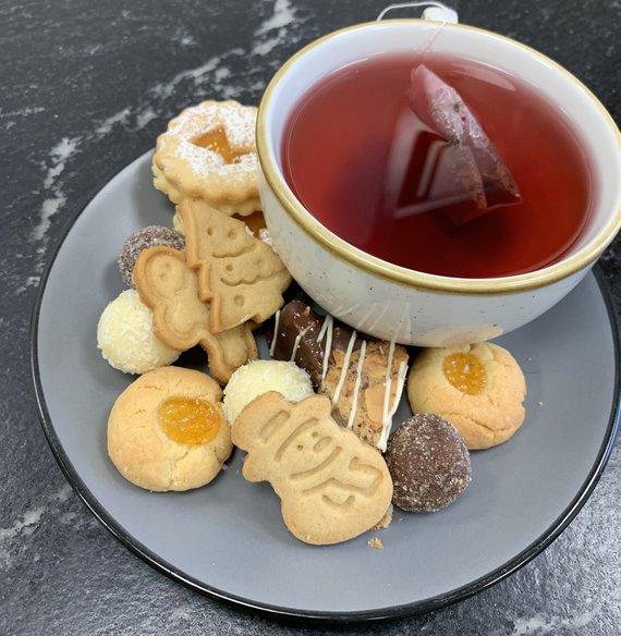Kekse und Tee