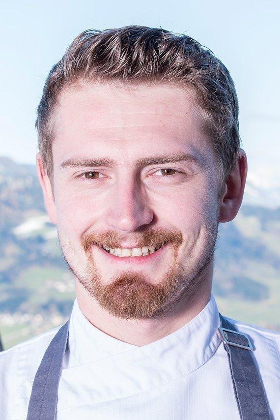 Küchenchef Martin Dicker