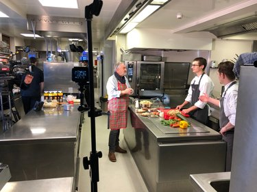 Kulinarium mit Kamera