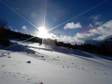 Sonnenschein am Gumpenberg