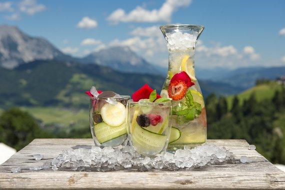 Vitaminwasser - gesunde Erfrischung für heiße Tage