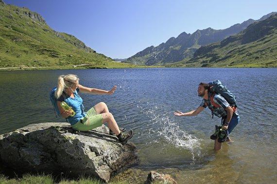 Wandern -wasserreiche Region
