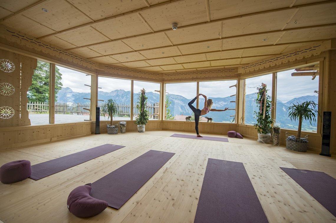 Yoga im Yogahaus