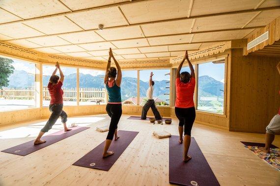 Yoga-im-Yogahaus