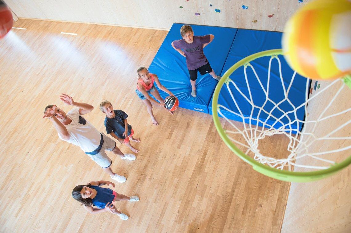 Basketball in der Aktivalm