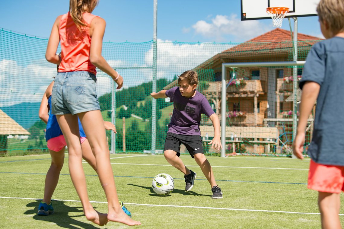 Fußball im Funcourt