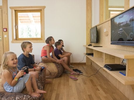 Playstation in der Spielealm