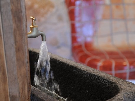Quellwasserbrunnen
