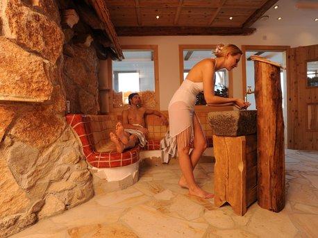 Sauna Innenbereich