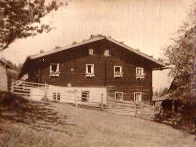 Der alte Bergbauernhof Knapplhof