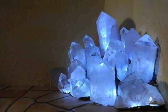 Bergkristall Dampfbad