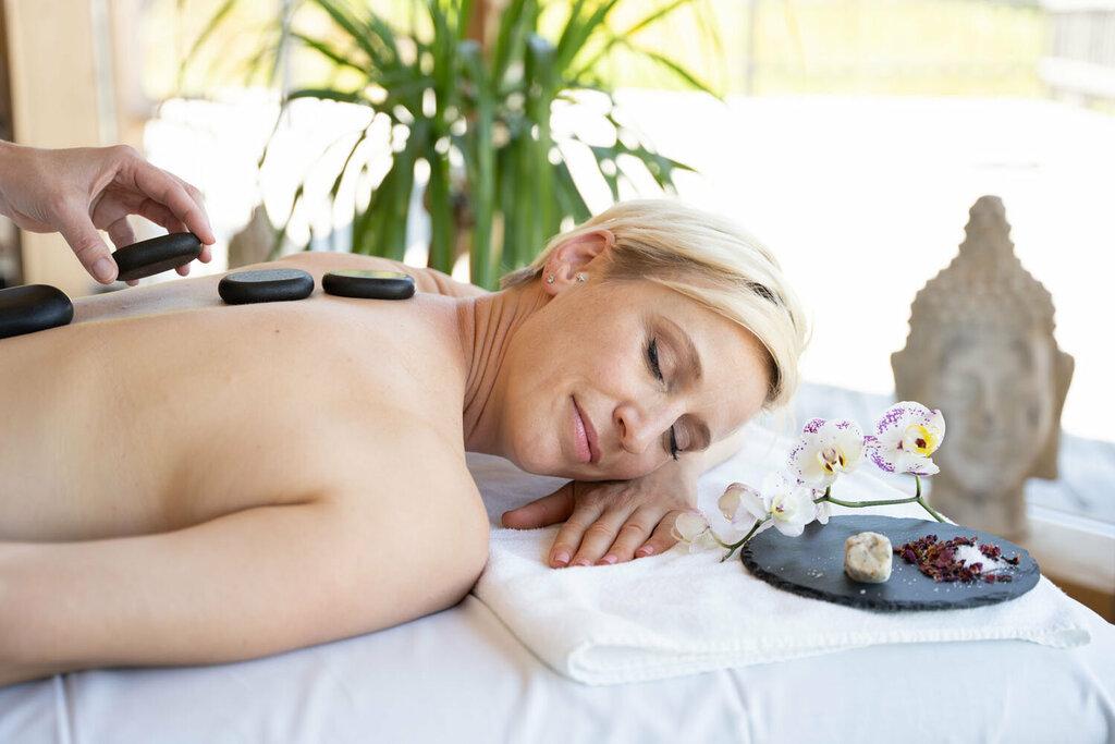 Wohltuende Massage