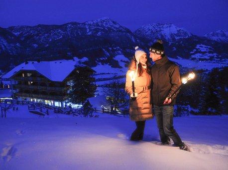 Wildromantische Winterzeit