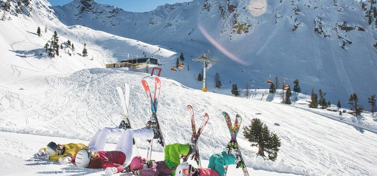 Sunshine skiing and Firn weeks