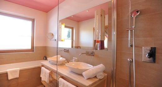 Bergheimat Badezimmer