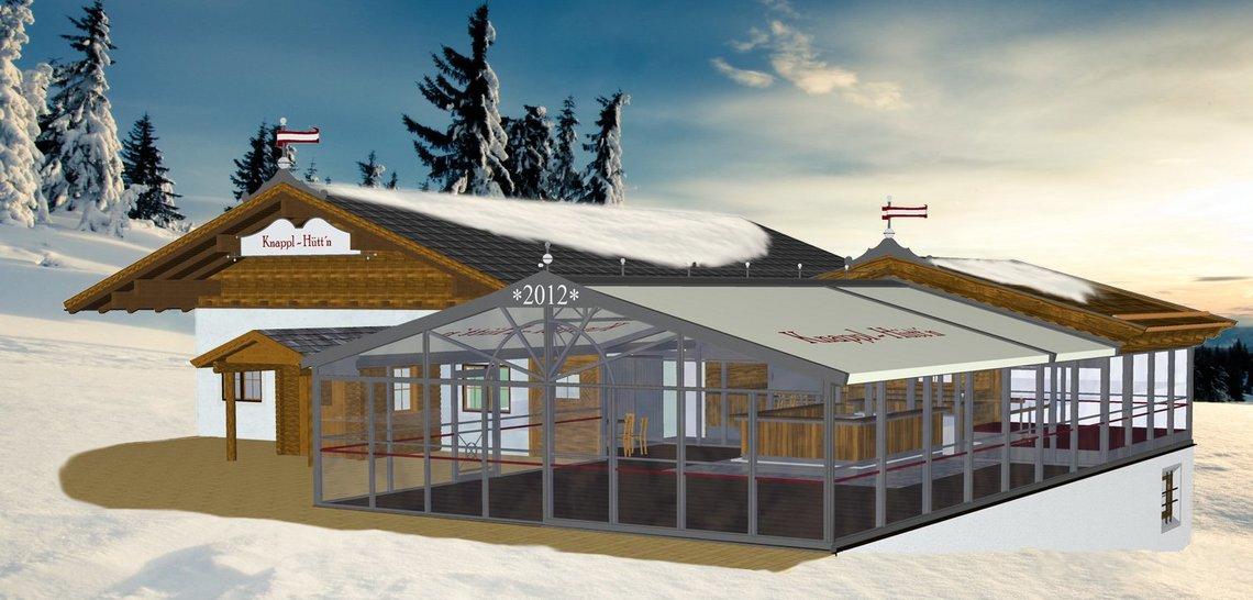 Knapplhütte mit Panoramalounge