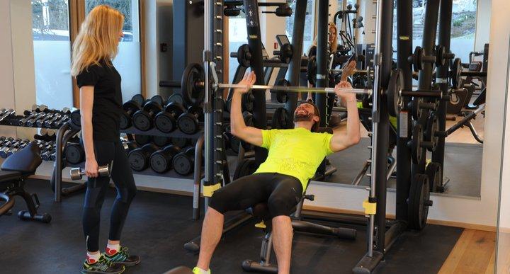 Fitnessraum Kraft/Cardio
