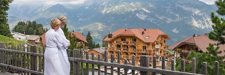 Alpine Sauna Village with 25 m sports pool